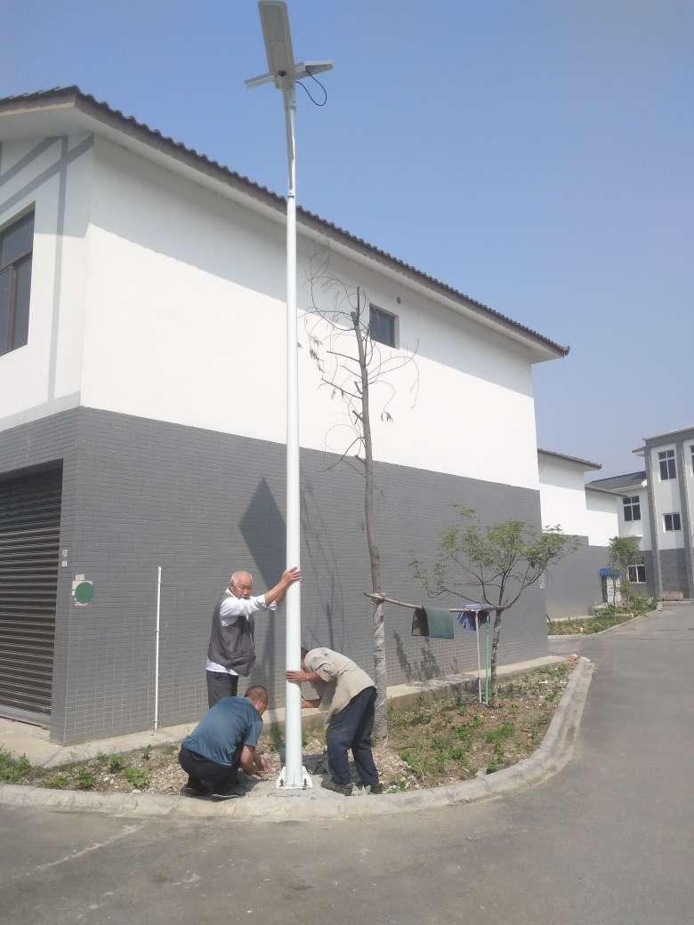 成都太陽能路燈廠家案例