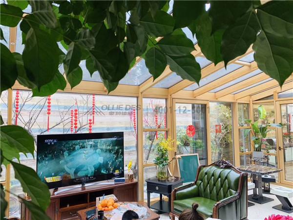 断桥铝门窗——花园展示