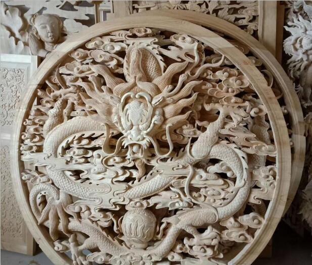 中国古建筑雕花