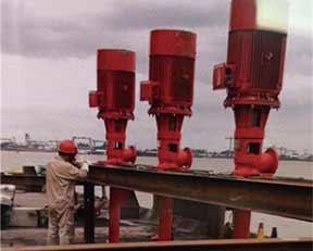 上海凯泉消防泵安装风貌一角