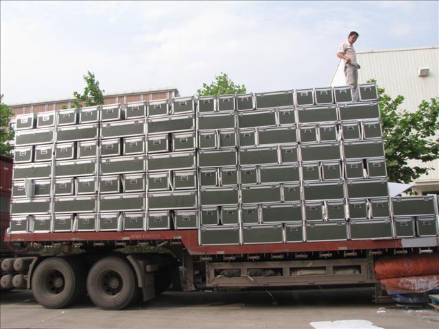 某部队军用器材箱案例展示