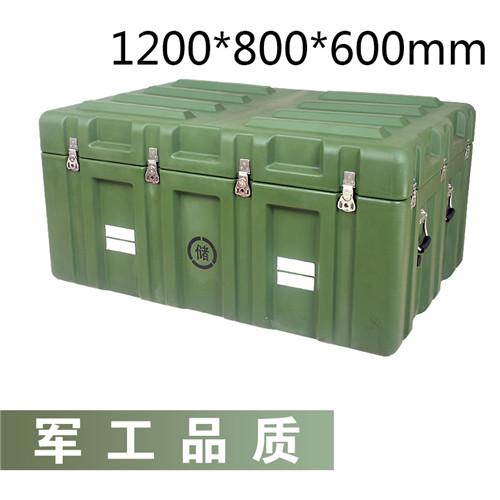 军绿色塑料箱