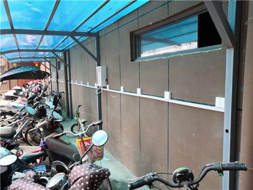 河南小区充电桩安装案例