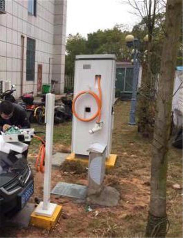 济南市政府充电站案例实拍