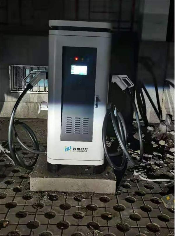 河南大唐发电充电站案例实拍