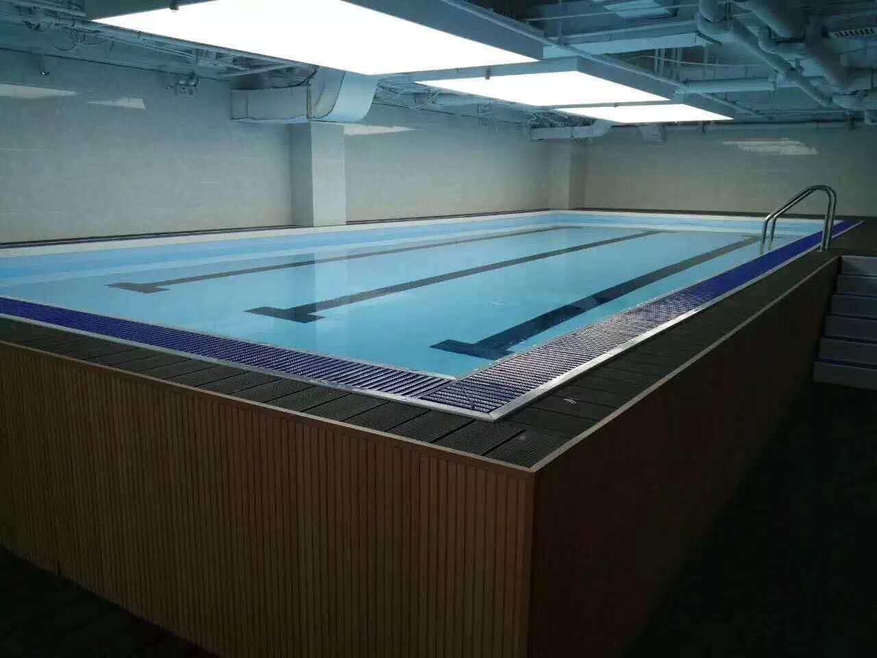 大型钢架胶膜泳池厂家