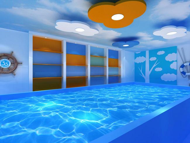 河南游泳馆设备