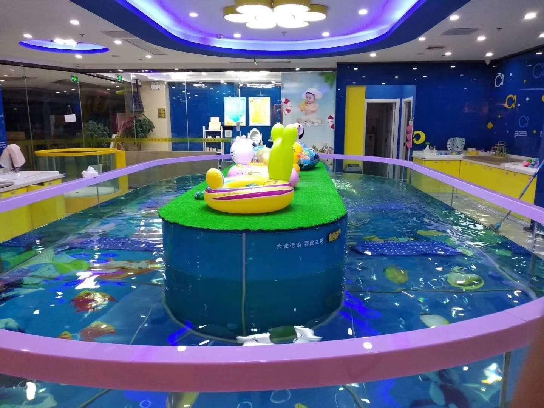 钢化玻璃婴幼儿泳池