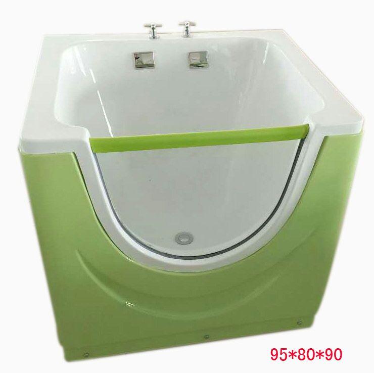 95*80*90cm單面透明嬰兒池