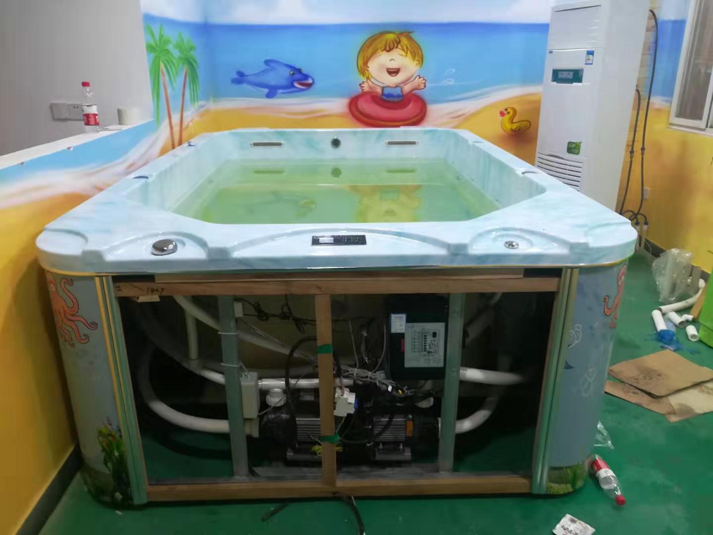 鄭州泳霸泳池設備有限公司恭祝河南新鄉李總店安裝完工