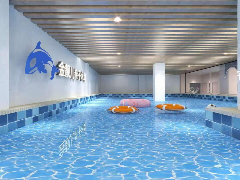 恭祝内蒙包头东河区金靓儿水育游泳馆即将开业