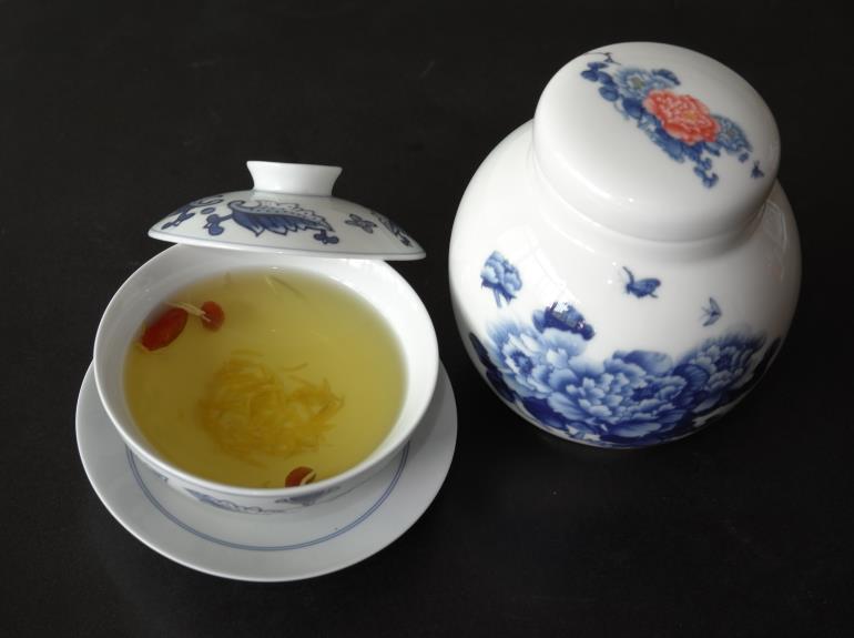 油用牡丹花蕊茶