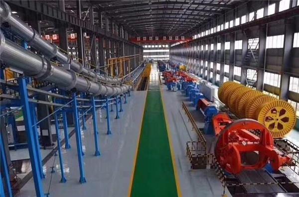bbin亚游電纜35千伏高壓生產車間展示圖!
