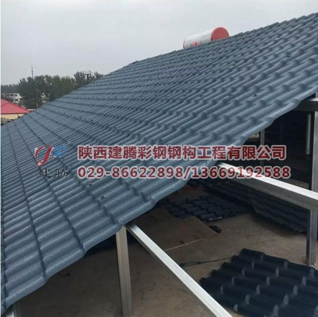 厂家批发树脂瓦配件 滴水檐吊檐瓦檐 仿古树脂瓦 树脂瓦屋顶瓦
