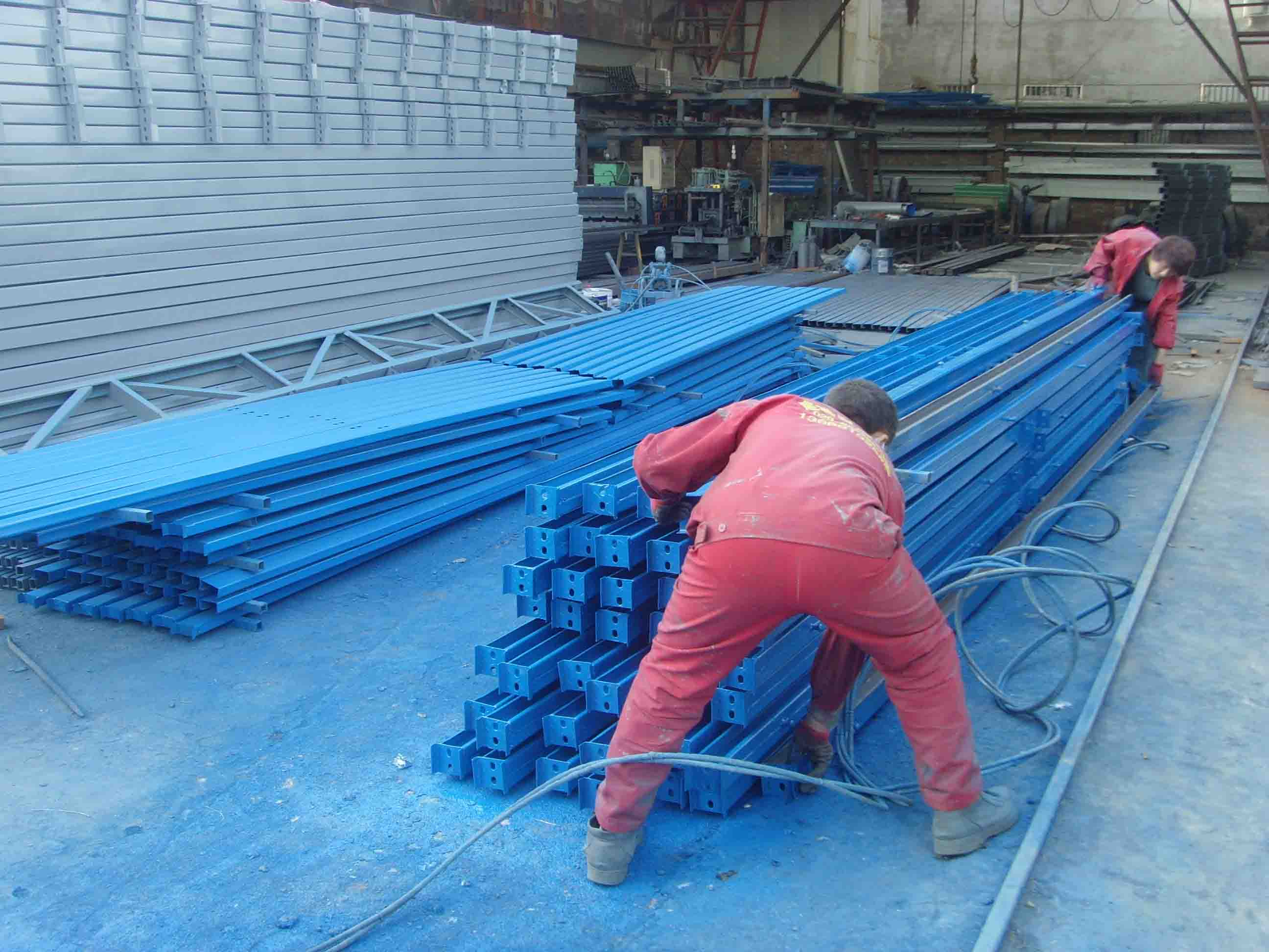 6P立柱-西安钢结构