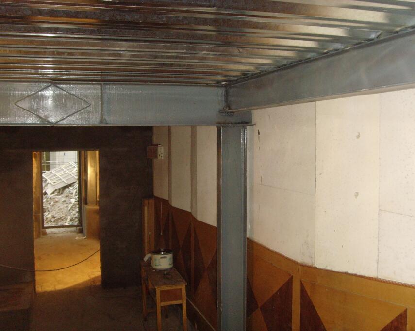 西安钢结构-楼层承重板