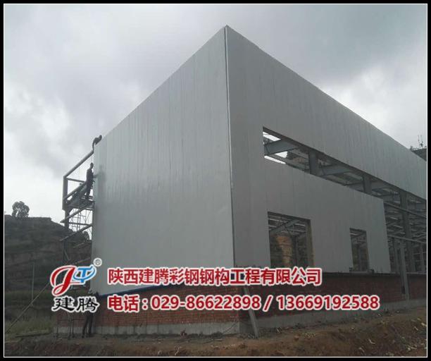 甘肃艾奈斯农业科技有限公司钢结构厂房