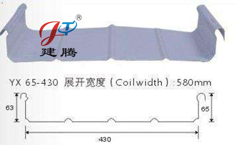 430型铝镁锰彩钢板