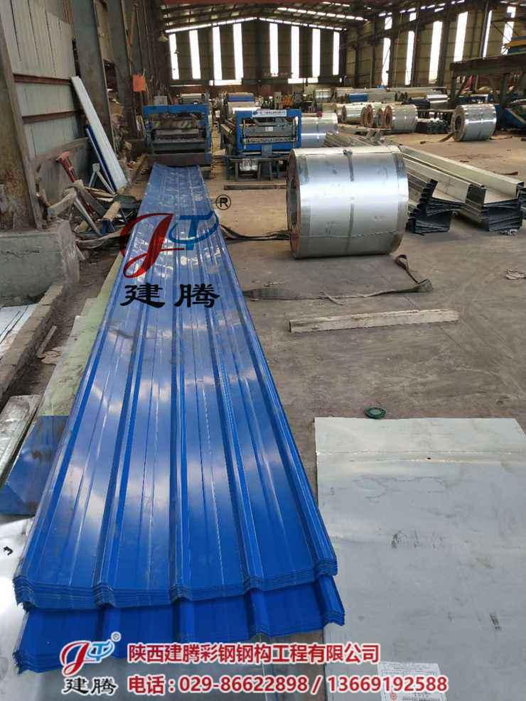 西安彩钢单板生产