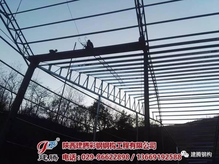 建腾钢结构抗风柱如何计算?