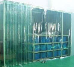 防静电PVC折叠帘