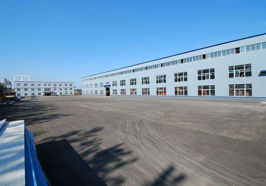 压印地坪材料生产厂区
