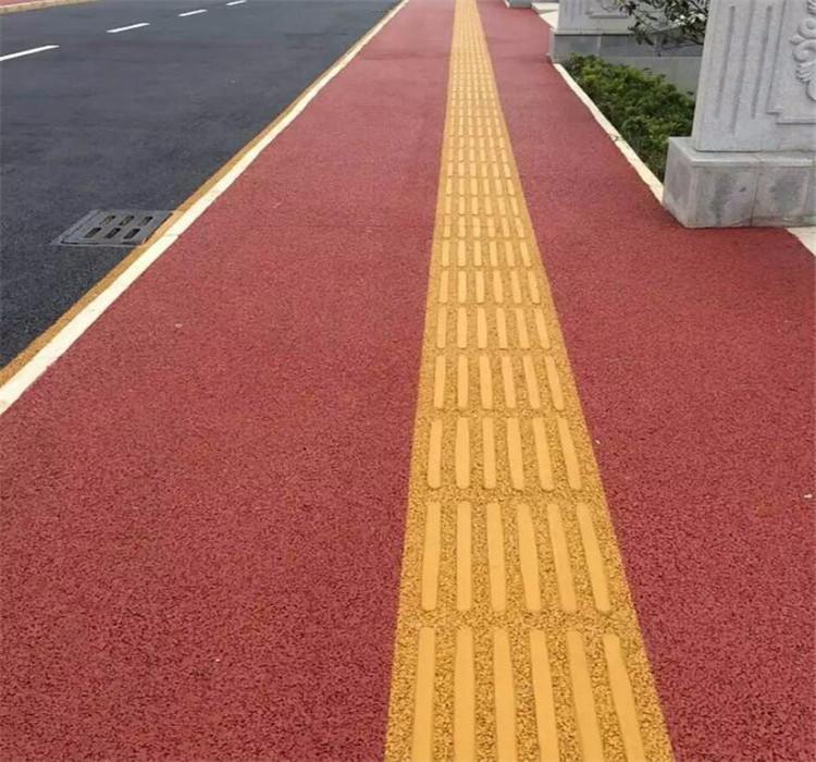 成都彩色透水地坪避免裂縫的有效措施你知道多少?
