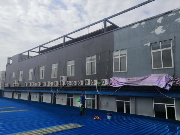 厂房外墙翻新,和厂房彩钢瓦喷漆翻新