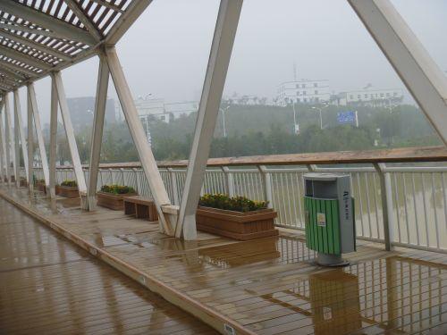 西安曲江千林郡小区铸铝桌椅生产的西安浐灞生态区塑木花箱