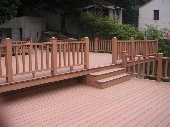 户外塑木栏杆