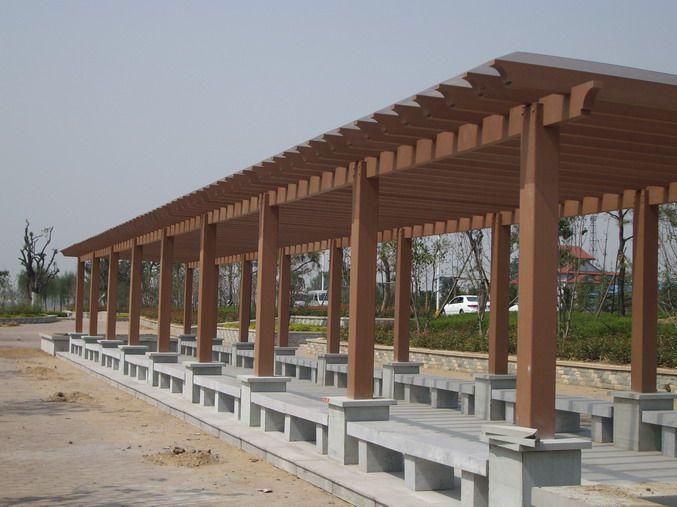 陕西木塑廊架