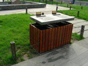陕西塑木垃圾桶