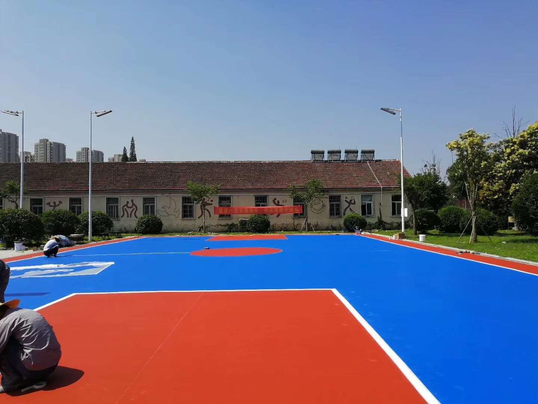 海軍學校矽PU籃球場