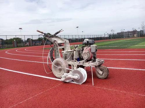 加拿大國際學校透氣型塑膠跑道