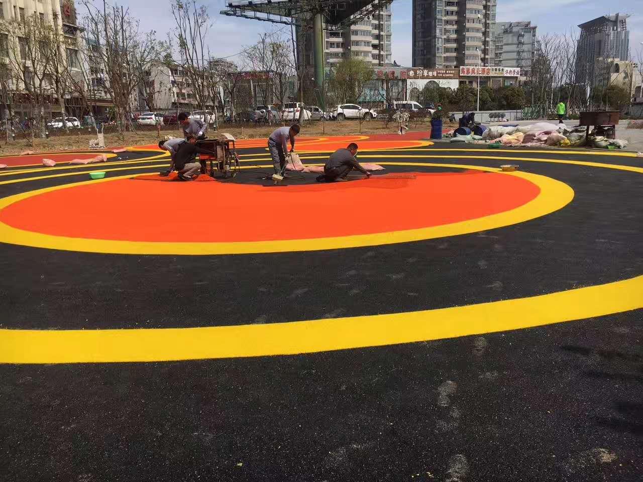 陝西幼兒園塑膠地板