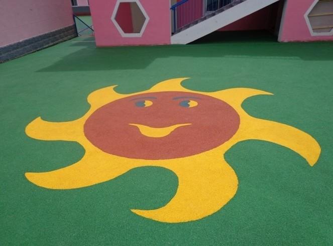 某幼儿园合作装饰地坪