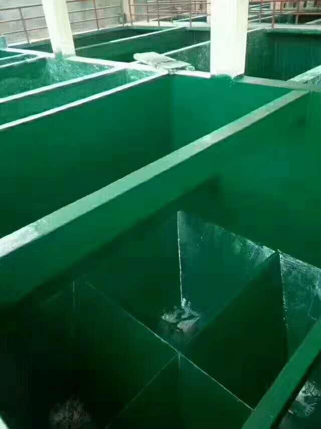 陕西防腐水池地坪施工