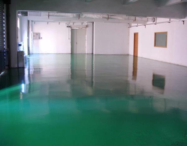 环氧树脂自流平地坪施工项目