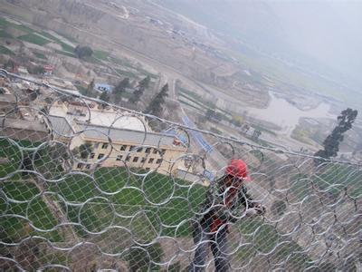 广西省河池市天鹅县被动防护网工程