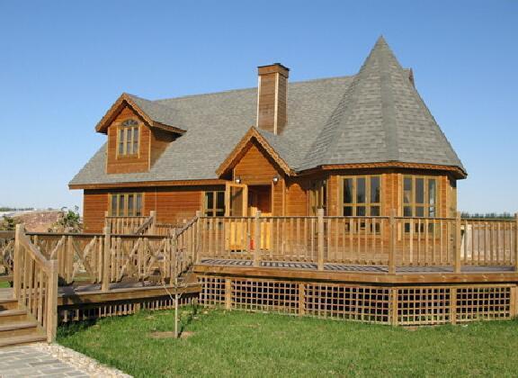 河南防腐木木屋设计