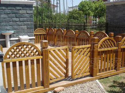 河南防腐木围栏