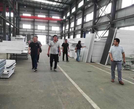 延安市子长县环境卫生管理站领导来公司参观考察