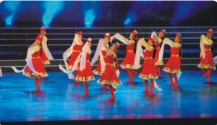 舞之星藏族舞培训