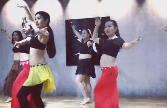 陕西肚皮舞教学