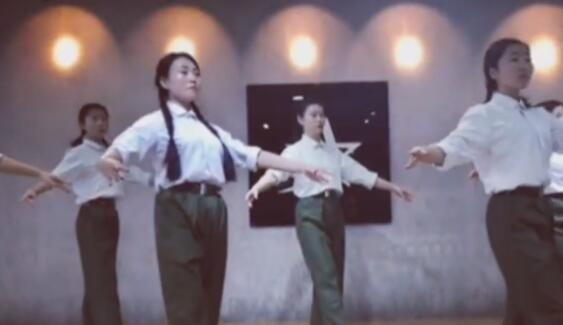 芭蕾基训《沂蒙颂》
