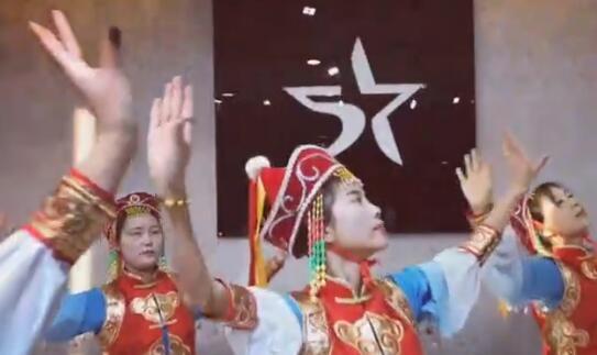 民族舞《天边》