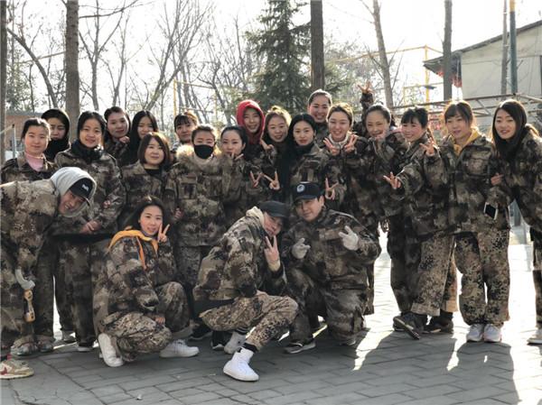 舞星级团队学员——秦岭团练