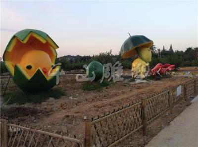 四川卡通水泥雕塑案例