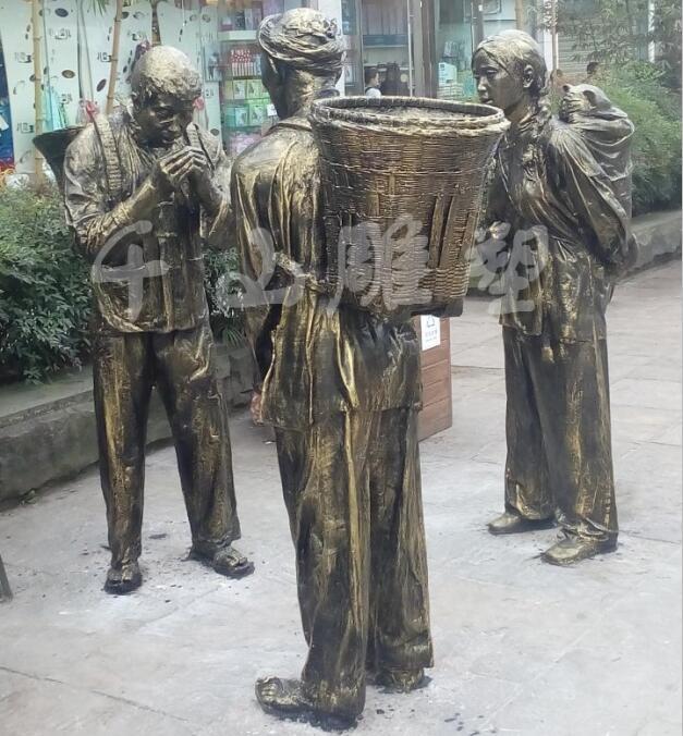 四川玻璃钢雕塑案例