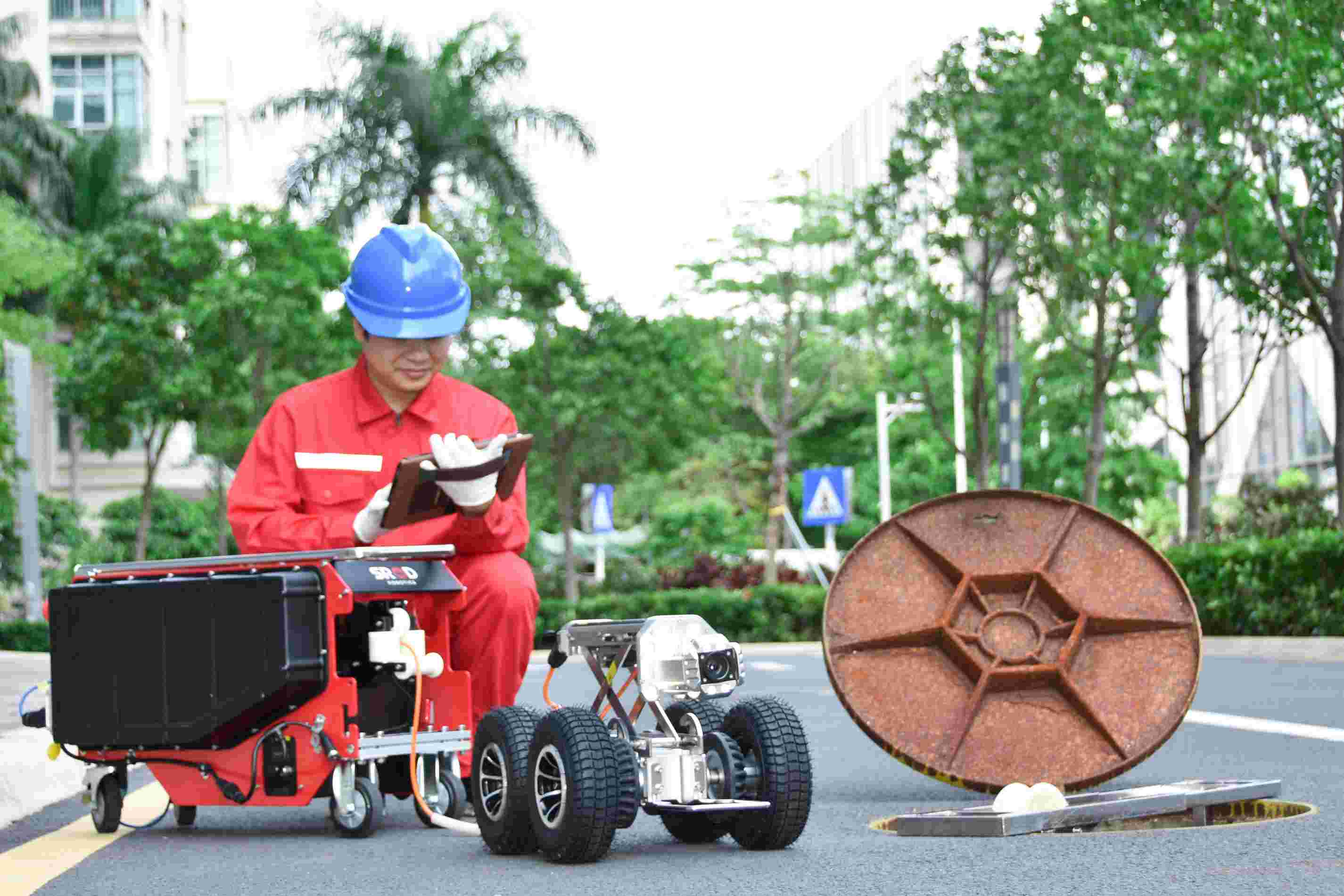 管道检测机器人SINGA200C